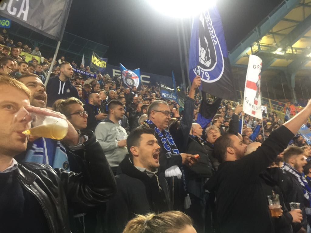 Trasferta Bologna-Inter 19/09/2017 SEMPRE PRESENTI