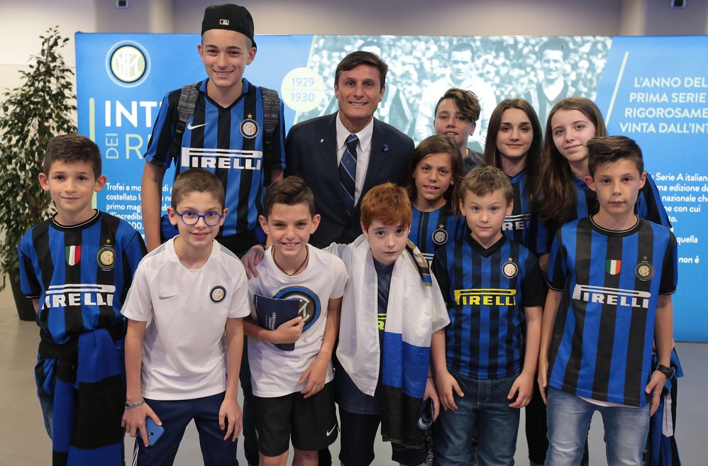 Evento/Incontro Post partita Inter-Sassuolo con Zanetti e i soci Junior