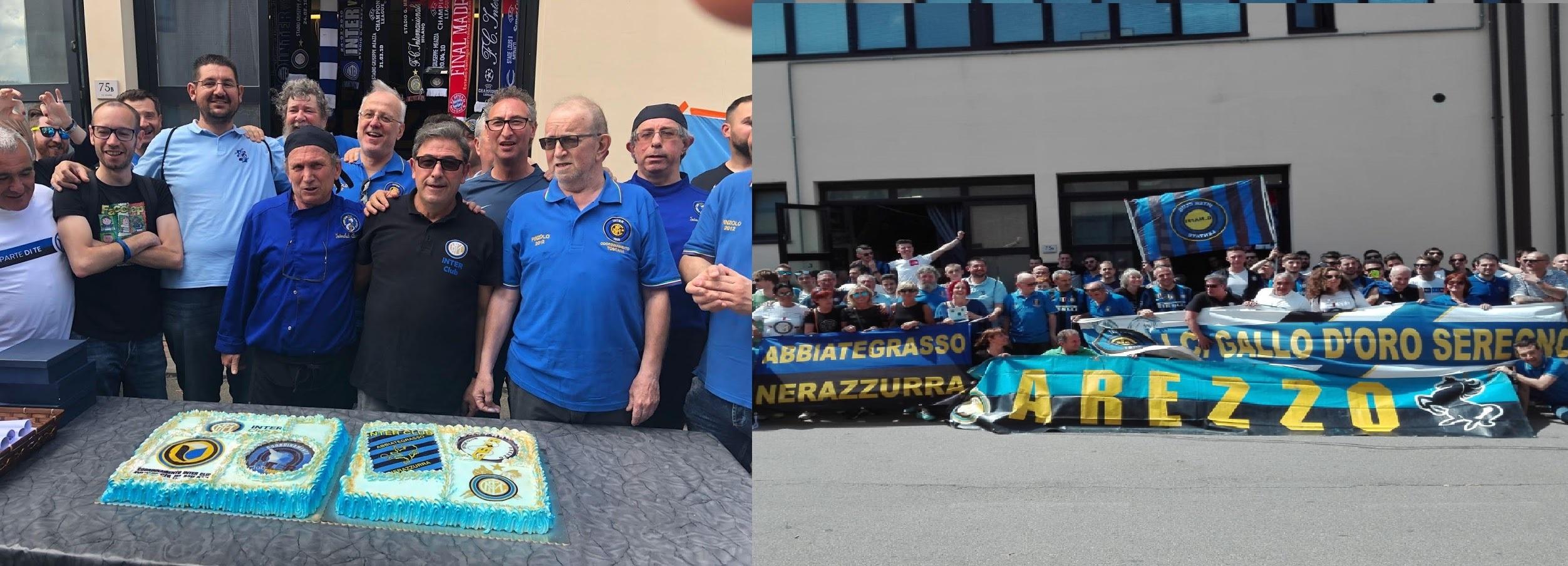 Trasferta roma (Lazio – Inter ) organizzata dal coordinamento Provincia di Milano e il coordinamento Toscano