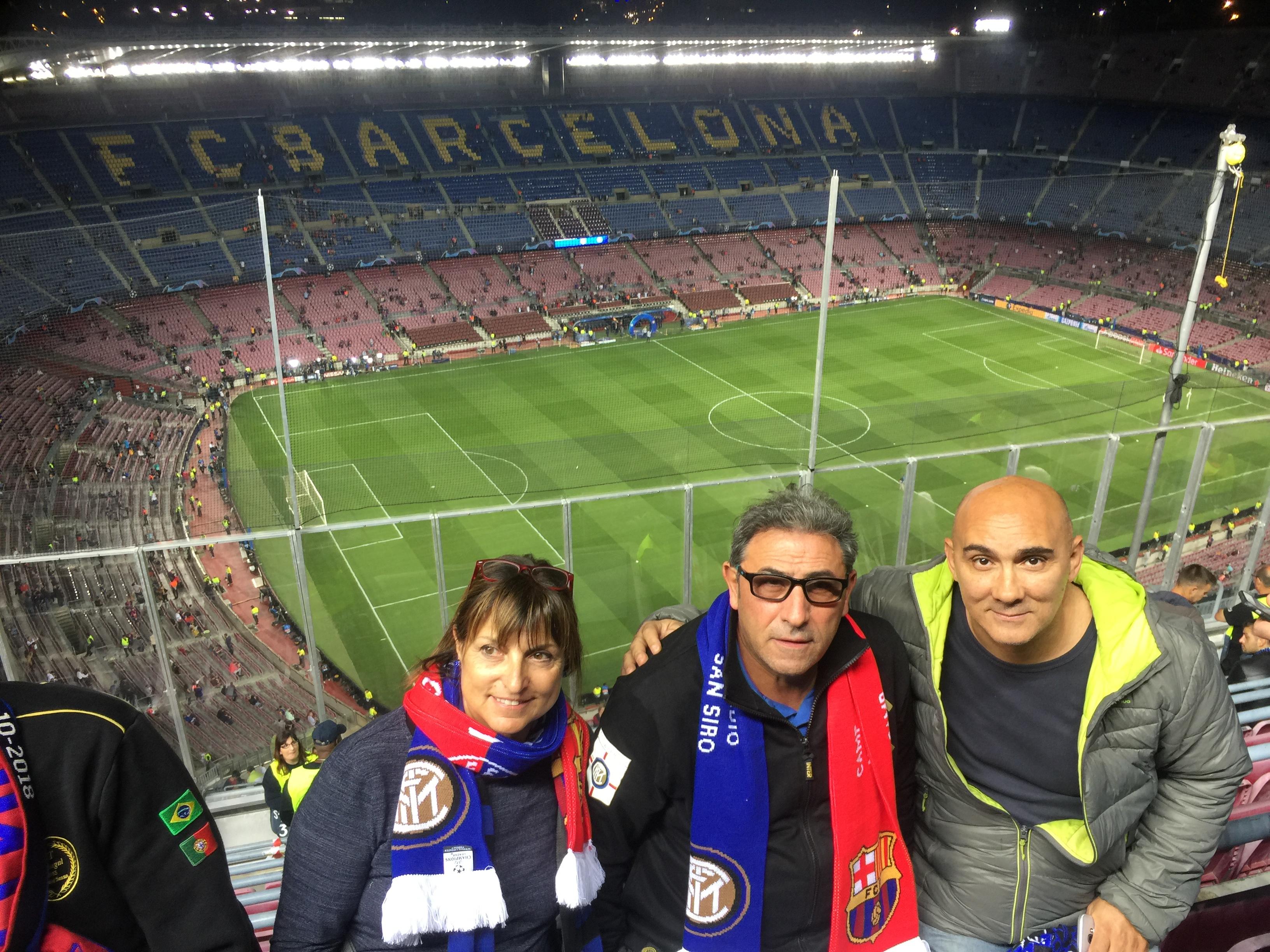 Trasferta a Barcellona