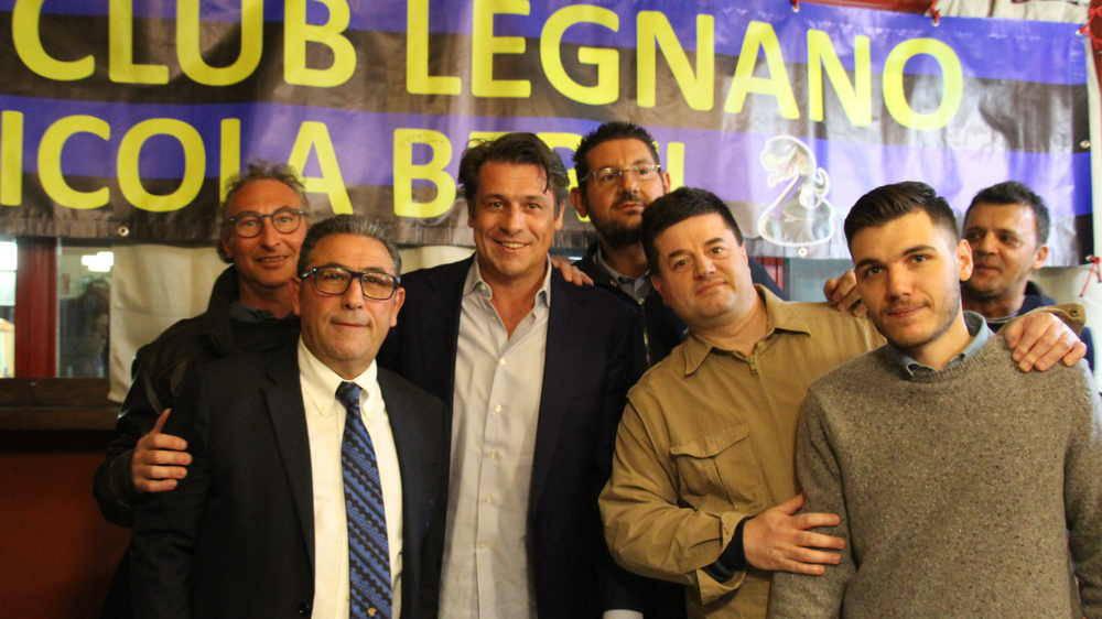 Festa 111 Anni di storia Inter, con Nicola Berti a Legnano.